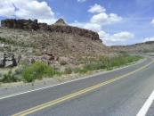 Some scenery from route 66 after I left the freeway